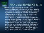 pma case barwick cj at 116
