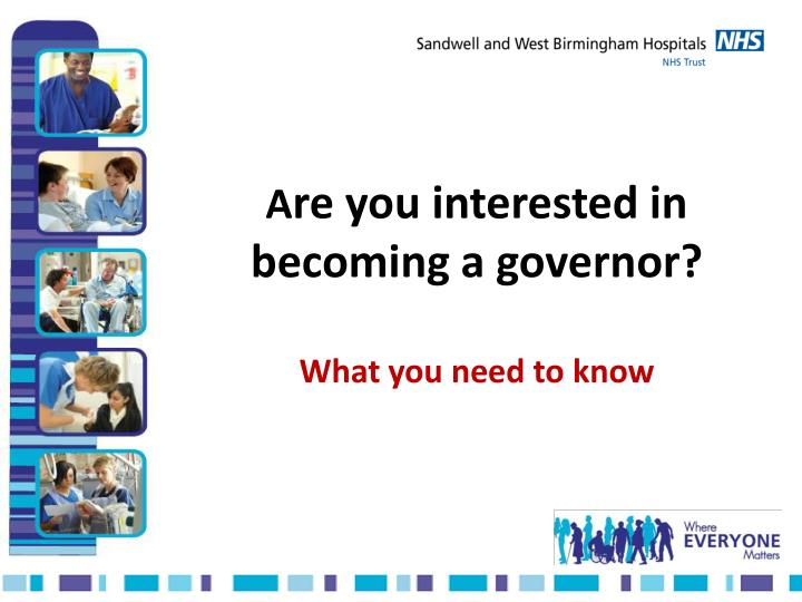 a re you interested in becoming a governor what you need to know n.
