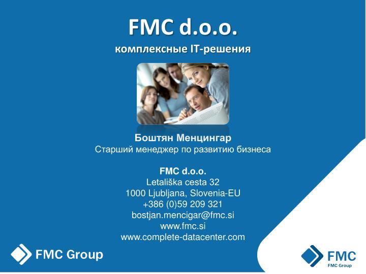 Fmc d o o it