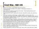 civil war 1861 65
