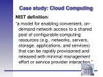 case study cloud computing