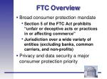 ftc overview