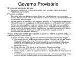 governo provis rio