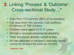 3 linking process outcome cross sectional study