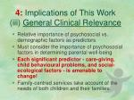 4 implications of this work iii general clinical relevance