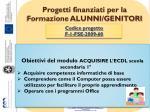 progetti finanziati per la formazione alunni genitori4