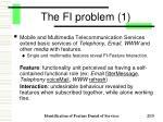 the fi problem 1
