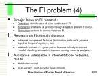 the fi problem 4