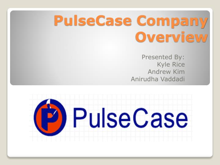 pulsecase company overview n.