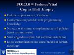 foe3 0 fedora vital cup is half empty