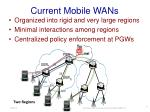 current mobile wans