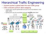 hierarchical traffic engineering