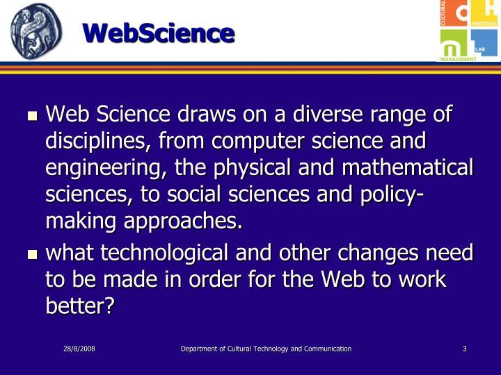 Webscience