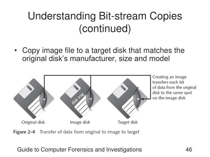 Understanding Bit-stream Copies (continued)