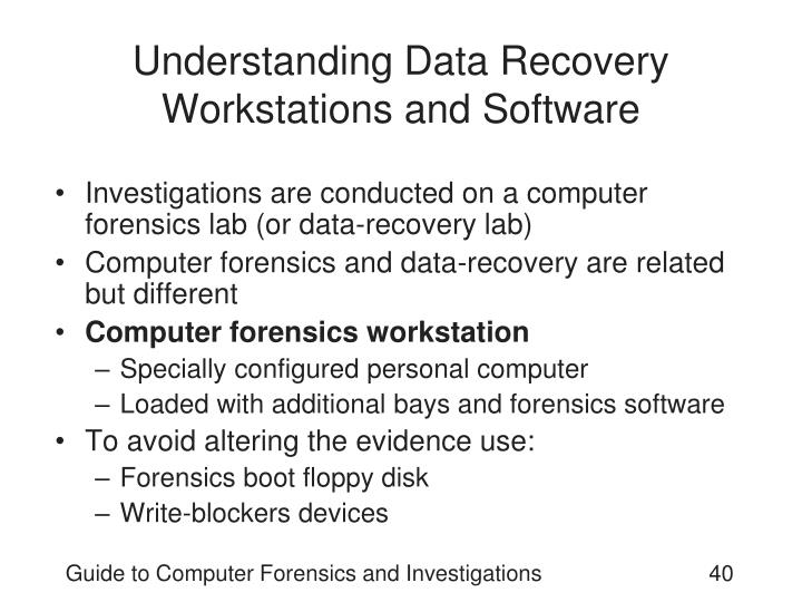 Understanding Data Recovery Workstations and Software