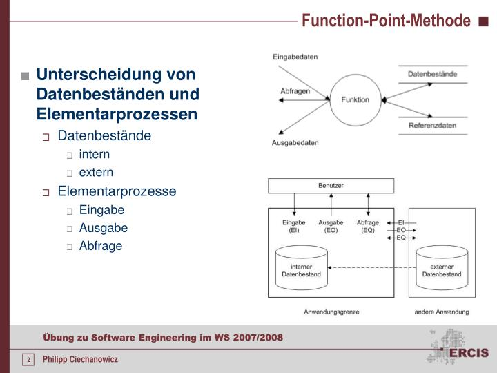 Function point methode