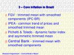 3 core inflation in brazil