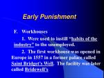 early punishment22