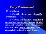 early punishment8