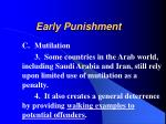 early punishment9