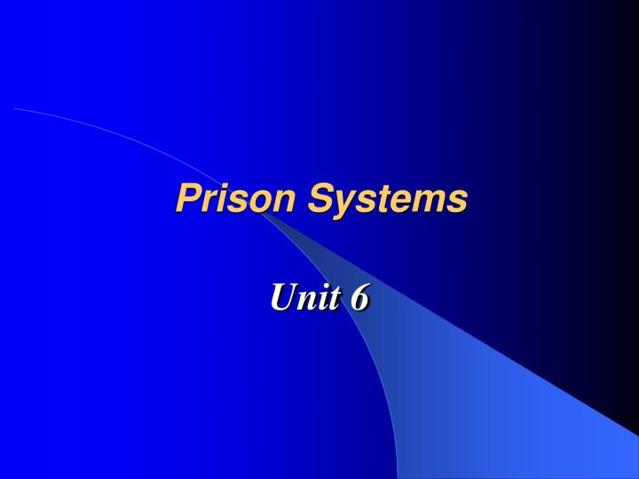 prison systems n.