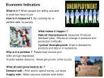 economic indicators1