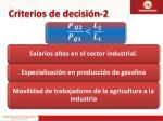 criterios de decisi n 2