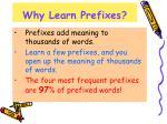 why learn prefixes