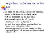 algoritmo de balasubramanian 3
