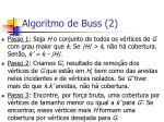 algoritmo de buss 2