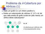 problema da k cobertura por v rtices 1