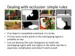 dealing with occlusion simple rules