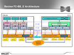 review fc bb e architecture