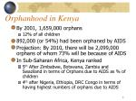 orphanhood in kenya