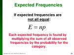 expected frequencies1