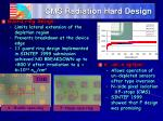 cms radiation hard design