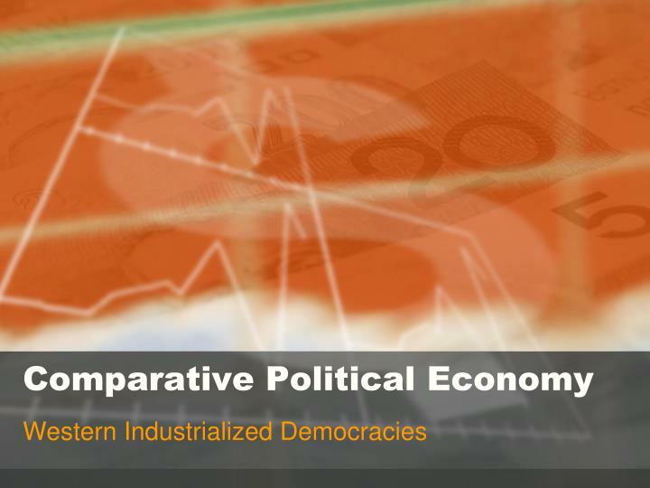 comparative political economy n.