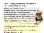topic 1 measurement and uncertainties 1 2 uncertainties and errors10