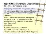 topic 1 measurement and uncertainties 1 2 uncertainties and errors21