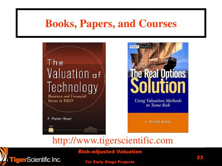 Books, Papers, and Courses