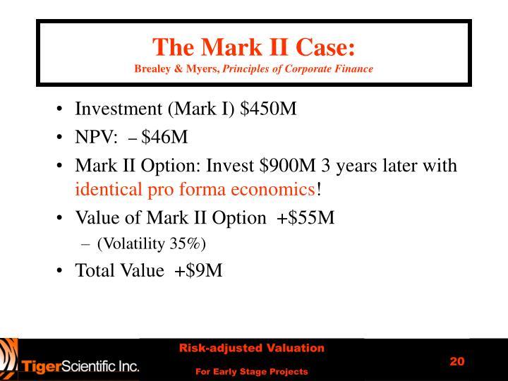The Mark II Case:
