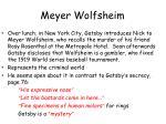meyer wolfsheim