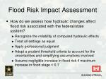 flood risk impact assessment1
