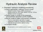hydraulic analysis review2