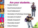 are your students