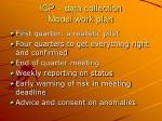 icp data collection model work plan14