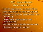 icp data collection model work plan4