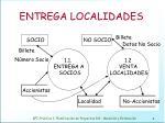 entrega localidades