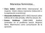 marxistas feministas