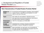 1 development and regulation of funded pension provision 4 12